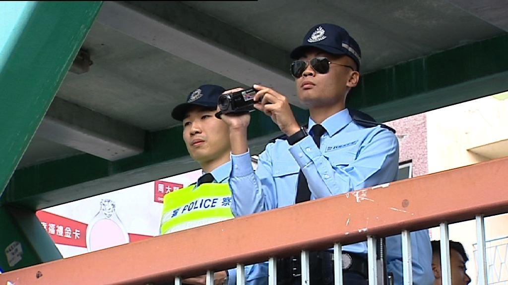 警方攝錄機拍道路阻塞再票控