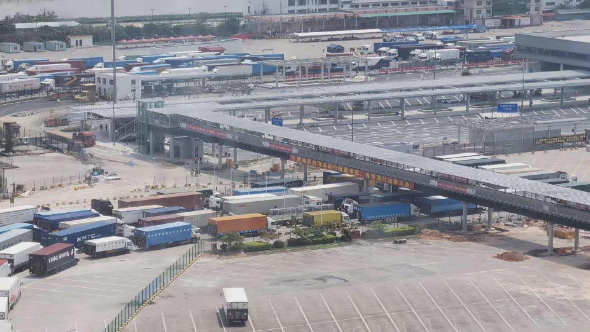 工會估計數百輛貨車因司機無健康證明遭拒入境內地