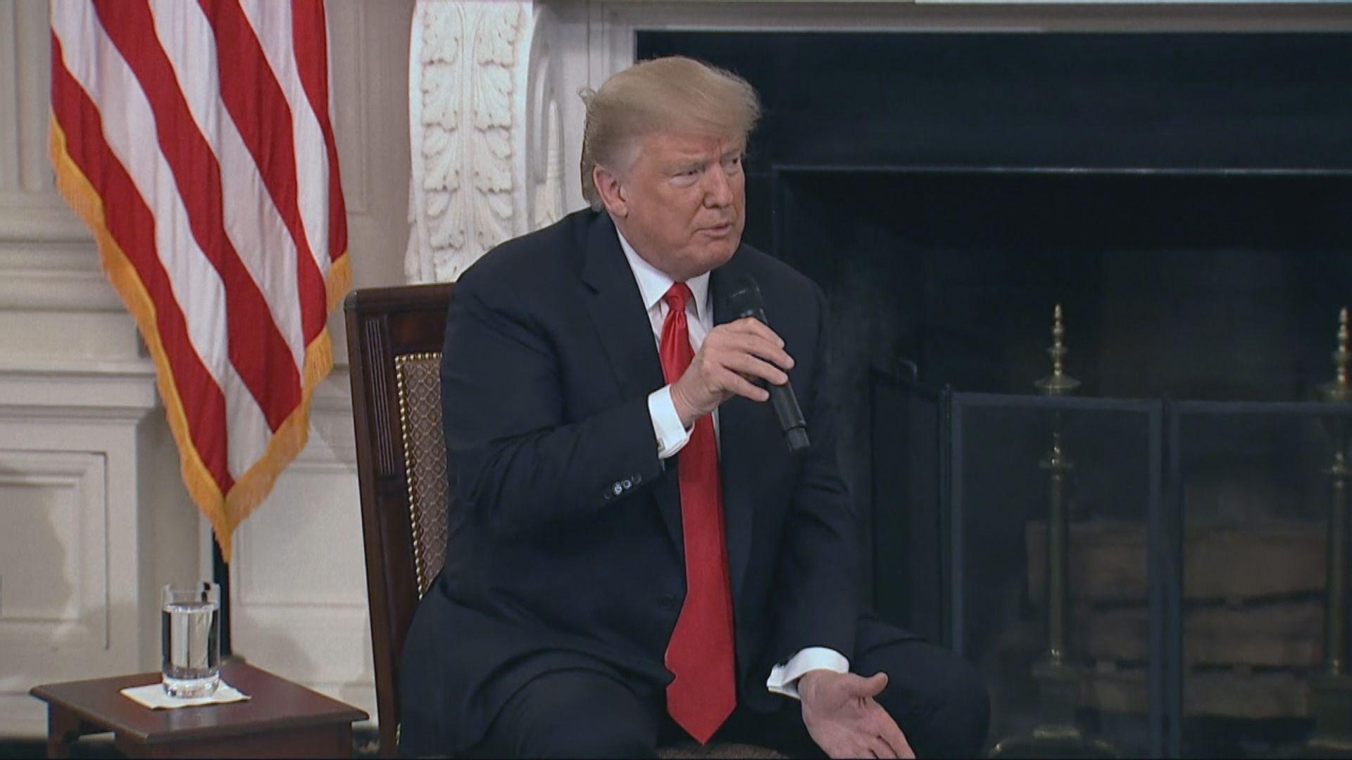 特朗普:中美有機會達成貿易協議