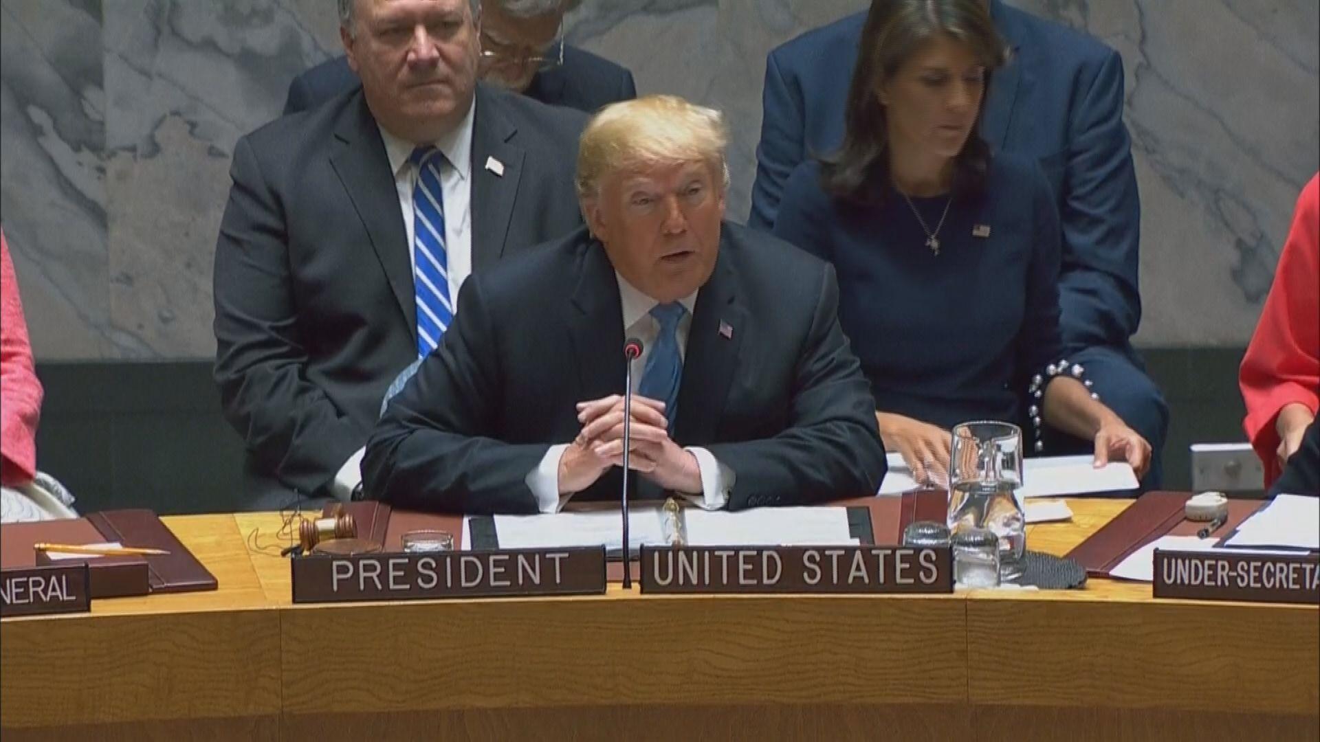 特朗普指摘中國圖干預中期選舉