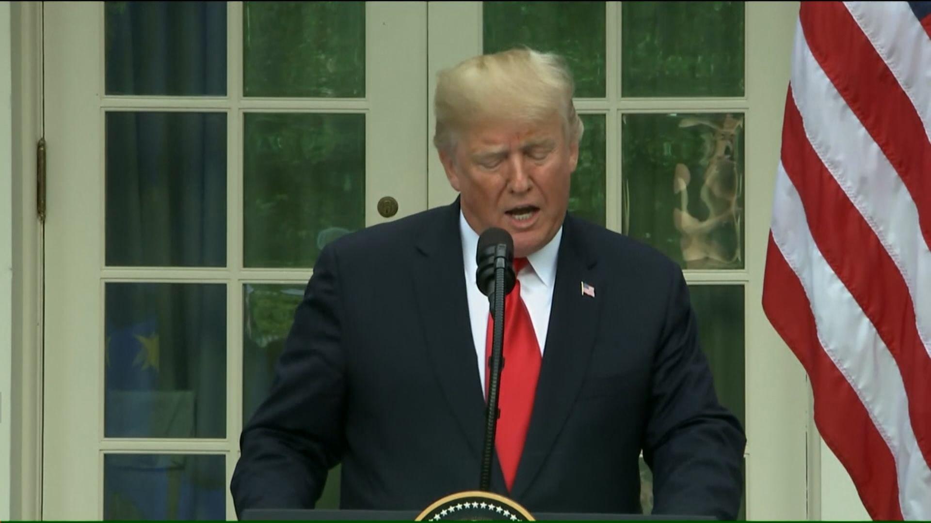 特朗普:鮑威爾威脅美國經濟增長