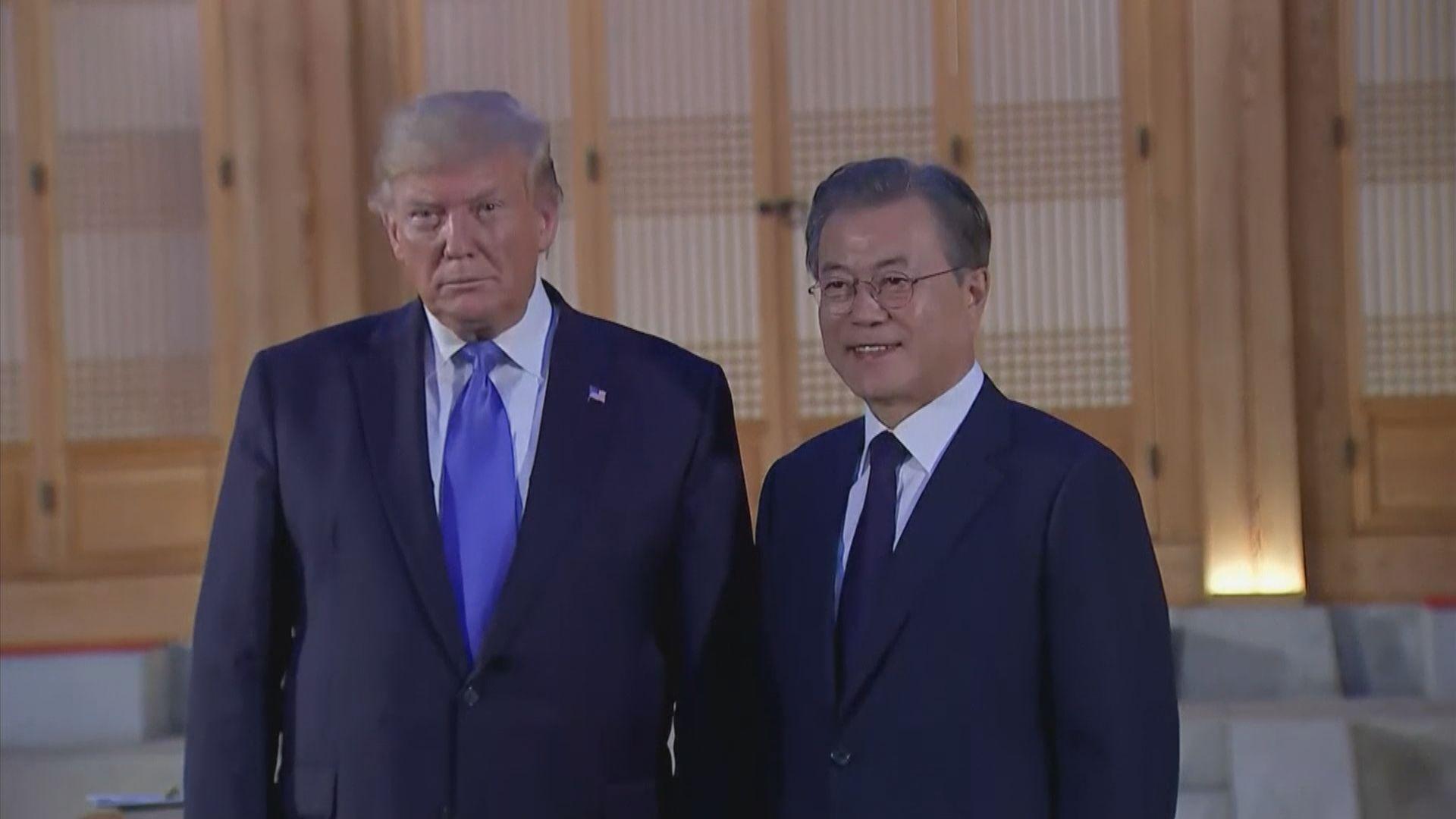 特朗普承認提出在南北韓邊境晤金正恩
