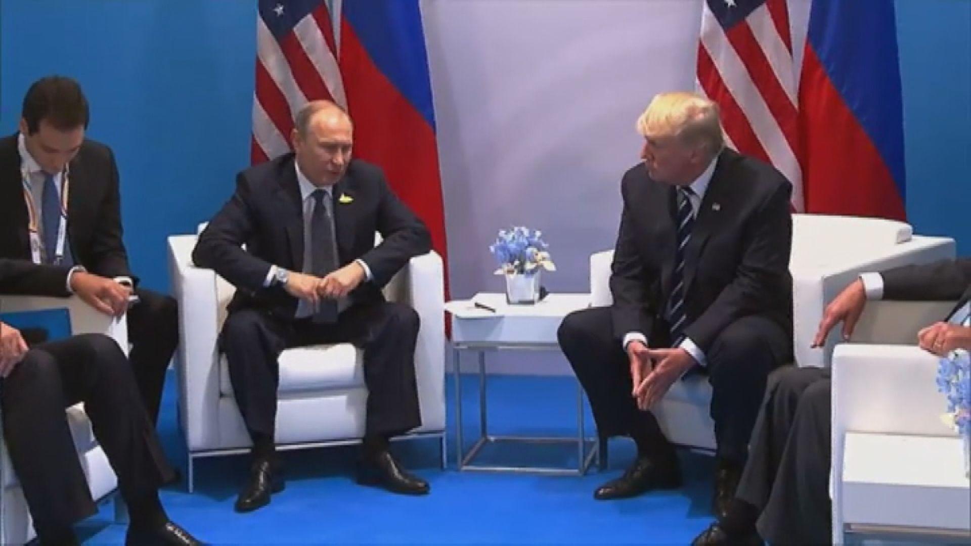 特朗普否認替俄羅斯工作