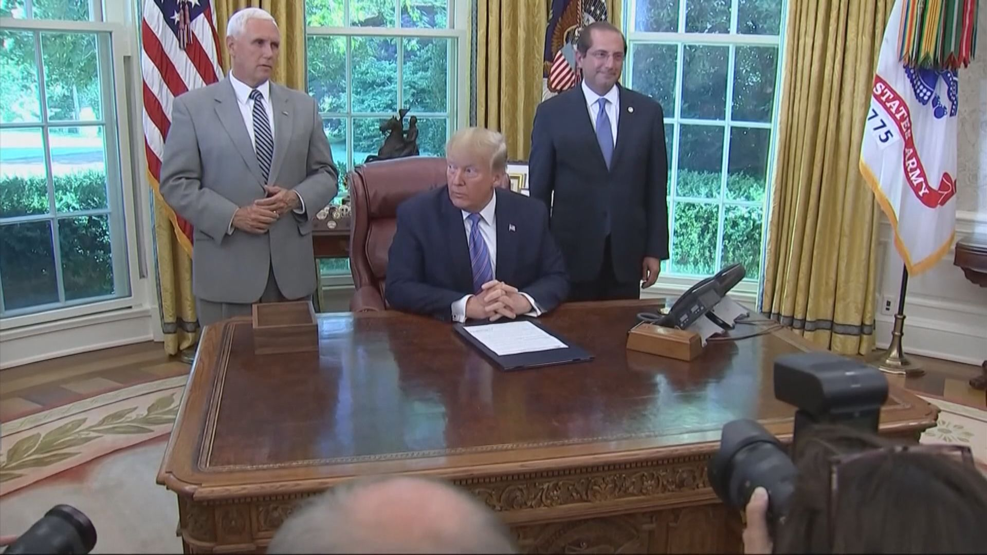 特朗普:中美貿易協議不能是對等 須有利美國