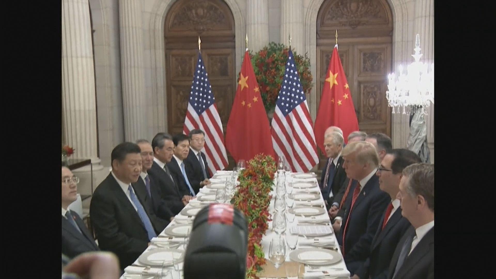 中美元首通電話 同意下周大阪會晤