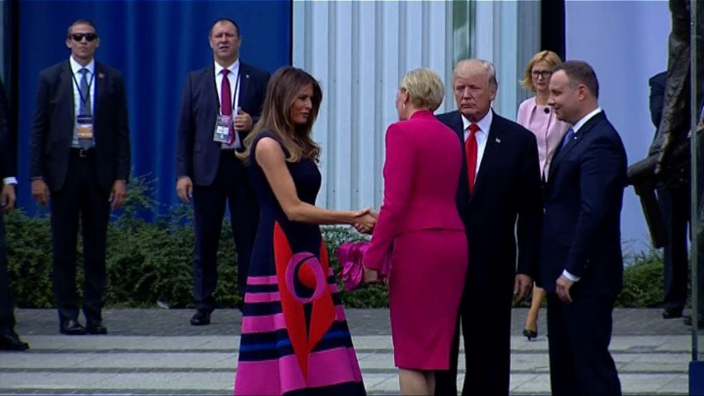 特朗普出訪握手事件再成話題