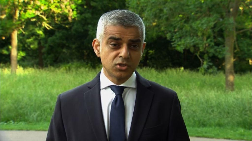 特朗普再次批評倫敦市長簡世德