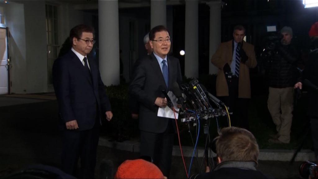 特朗普要求南韓官員公布美朝對話消息