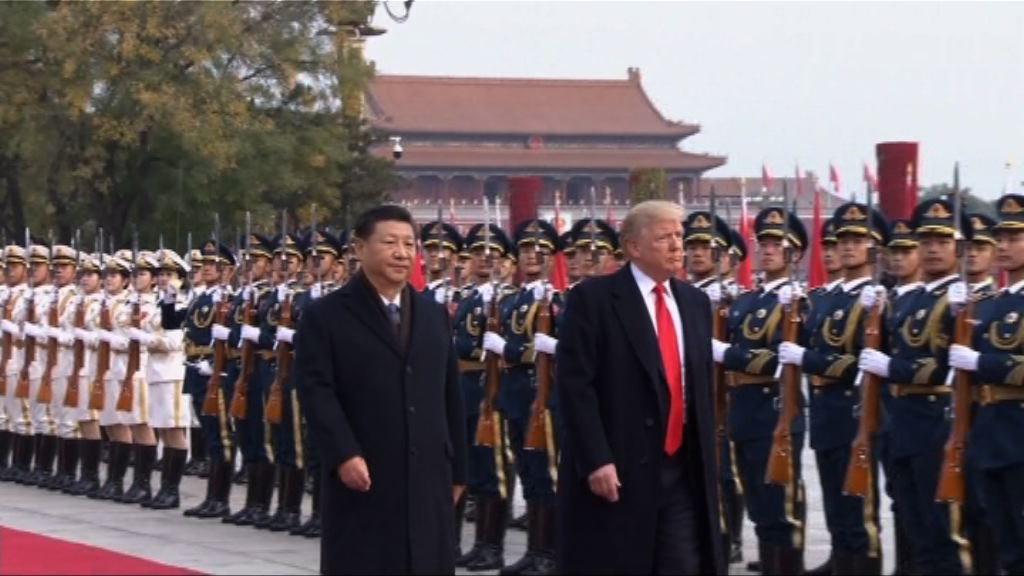 特朗普:相信美中有方法解決朝鮮半島問題