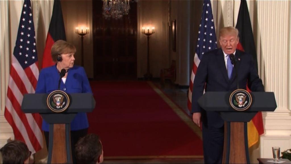 特朗普促德國承擔更多北約軍費
