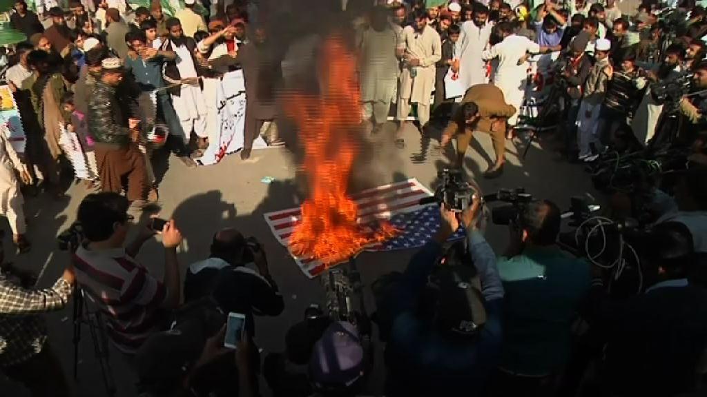巴基斯坦多處有反美示威