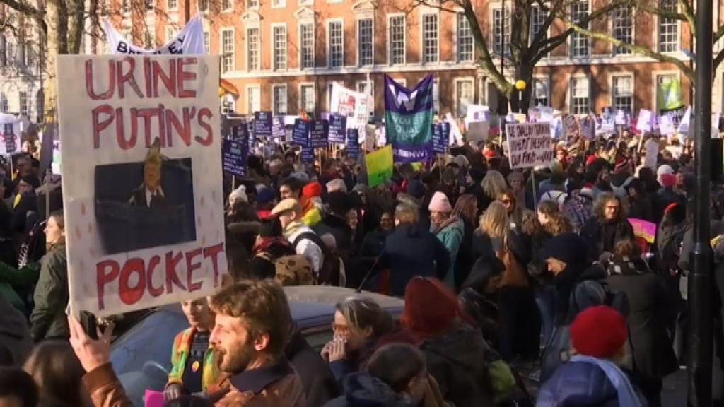 特朗普就職後女權示威浪潮捲全美