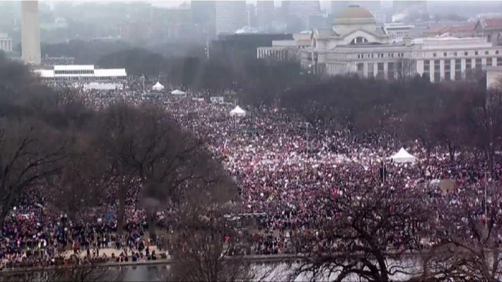 全球多個城市有大規模反特朗普示威