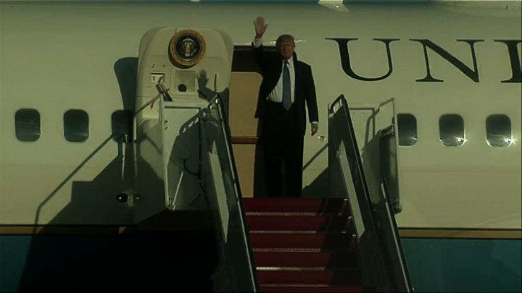 特朗普十一月訪問中日韓等國