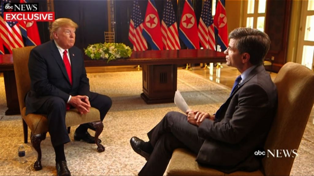 特朗普宣布停止軍演 觸動美韓軍方神經
