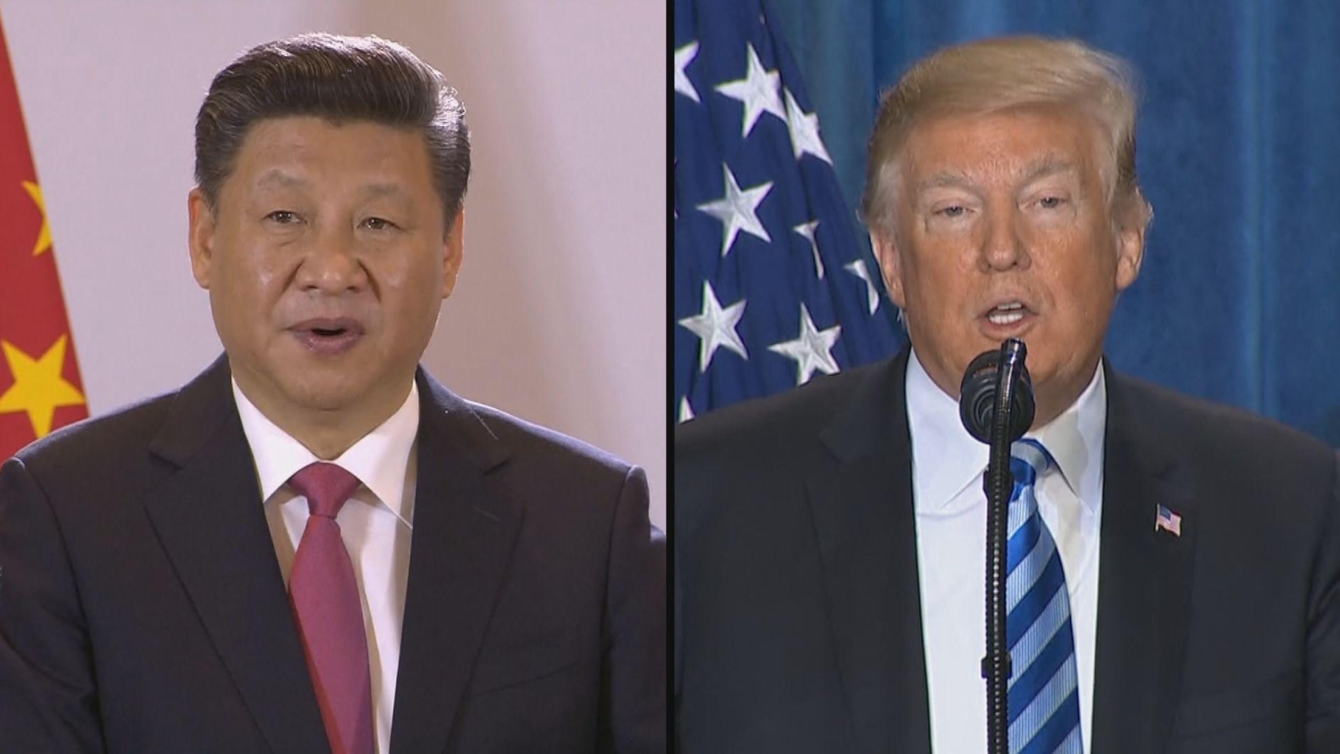 外電:白宮考慮下月中美會面撇除貿易議題