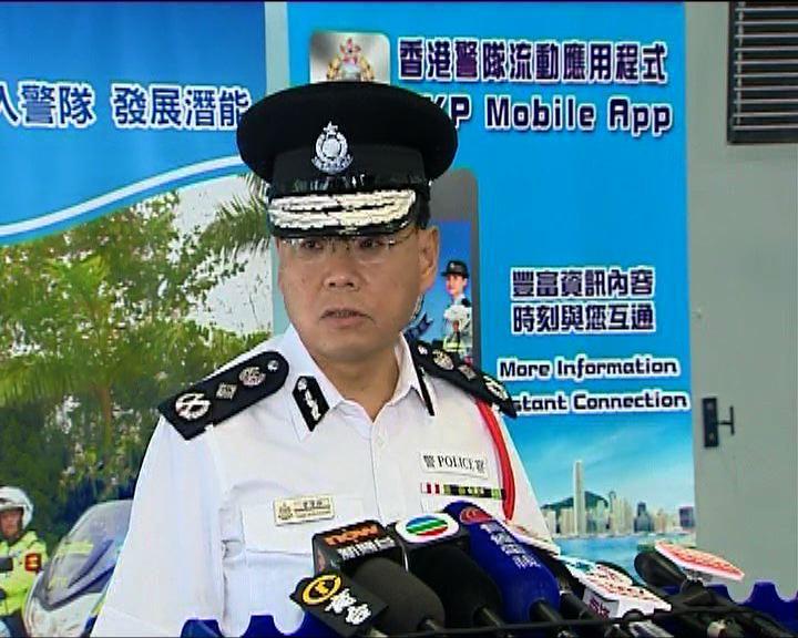 曾偉雄:警方已非常克制