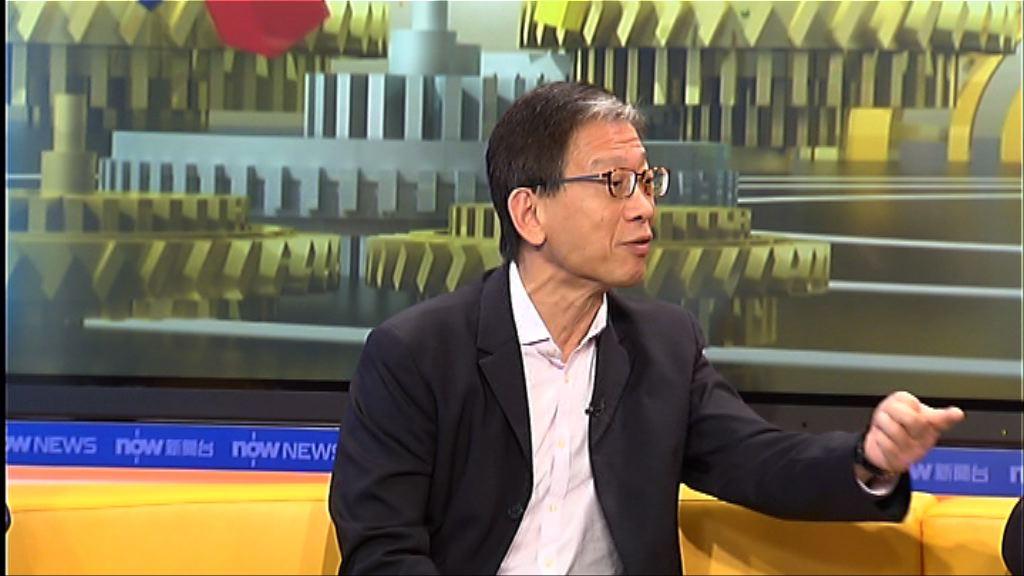 胡漢清:律政司拖延處理港獨爭議