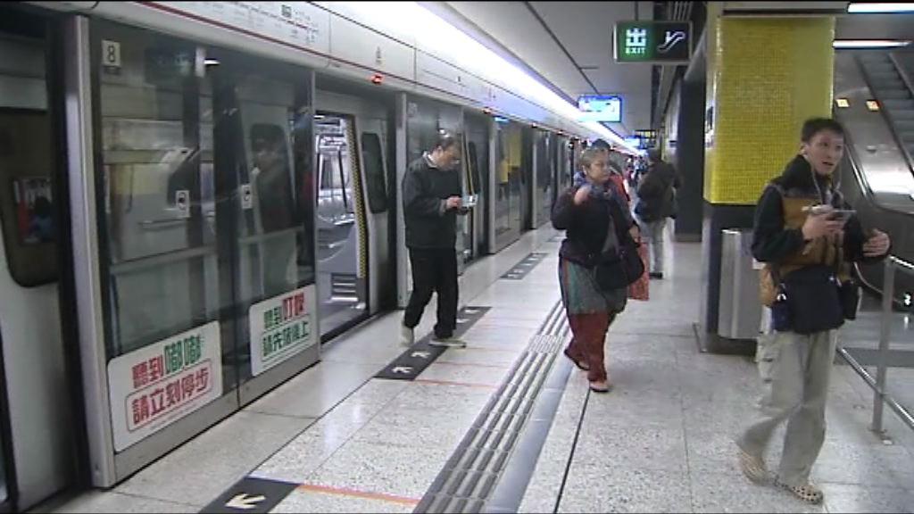 尖沙咀站重開 列車恢復正常