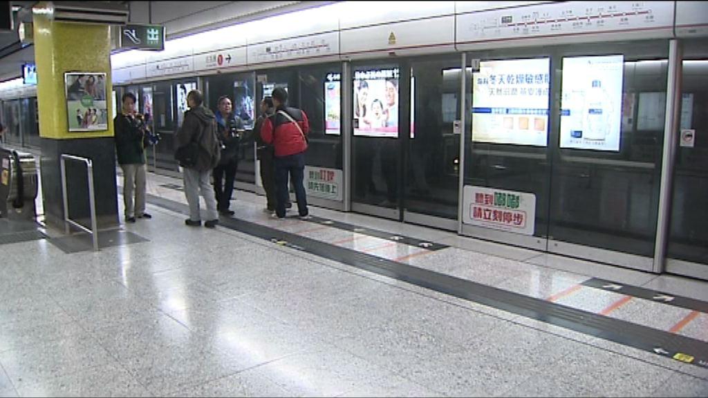 尖沙咀站重開 未見縱火事故痕跡