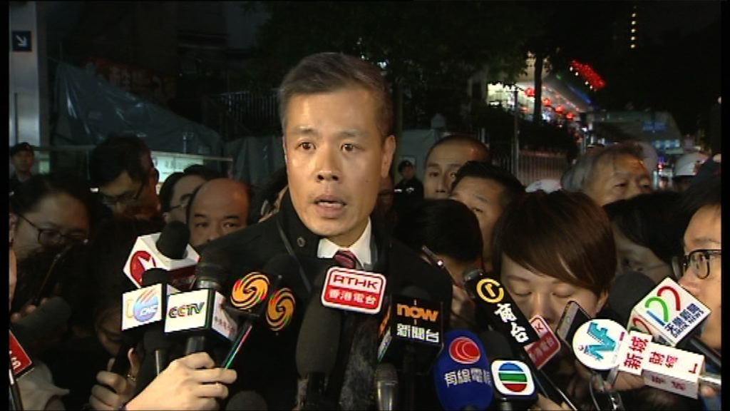 警方:被捕男子承認縱火自焚