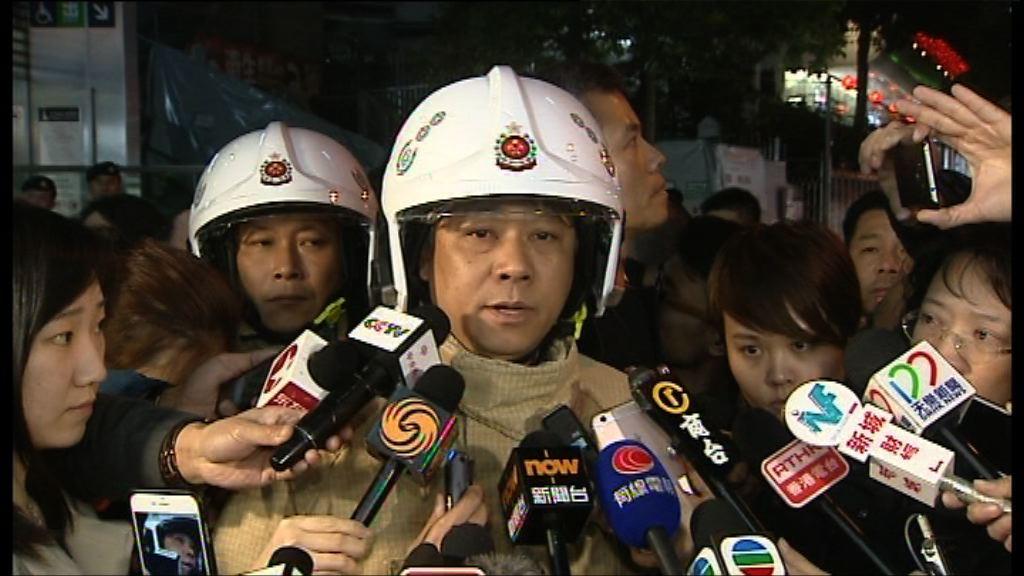 消防初步相信有人在車廂燃點助燃劑