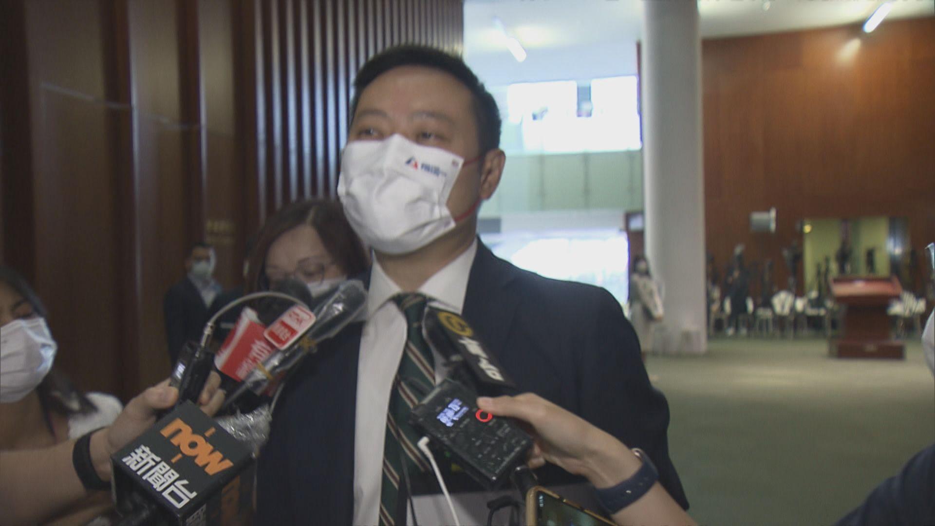 徐英偉:區議員工作需遵從條例要求