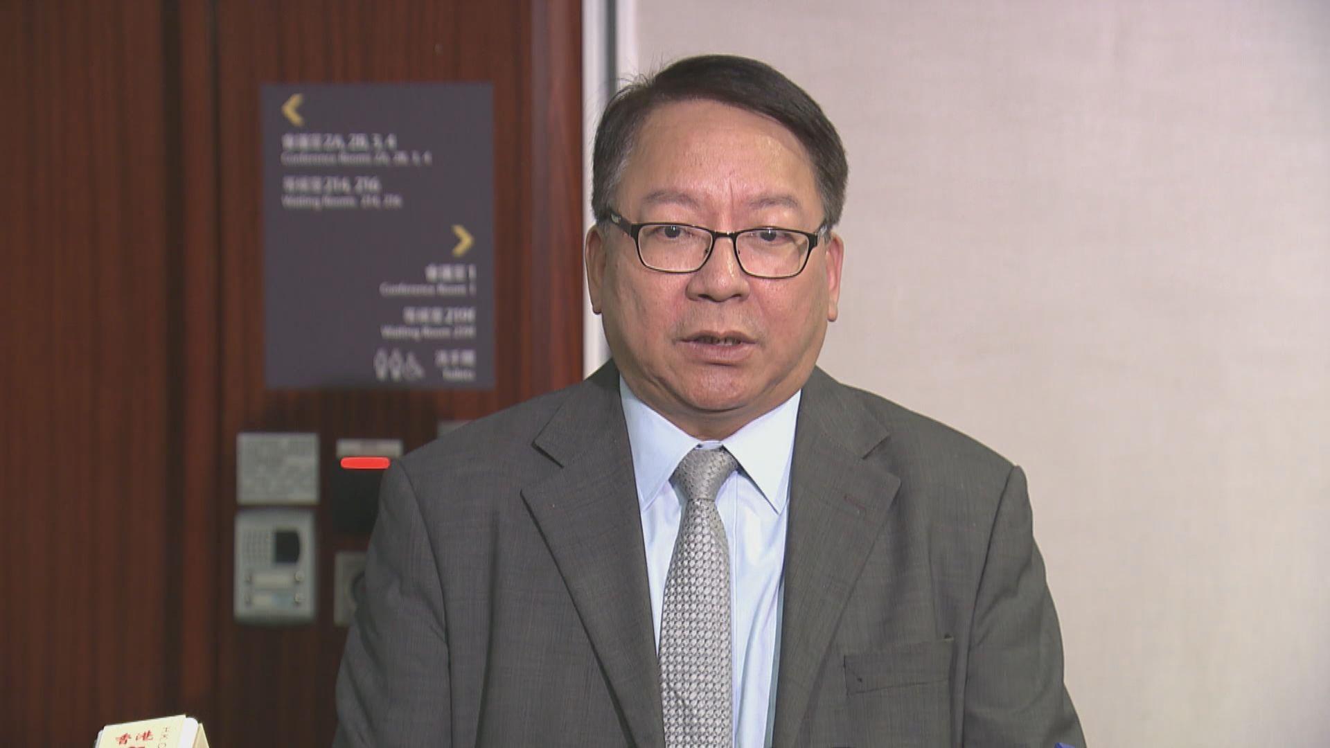 陳國基:時間上不許可再改三隧分流方案