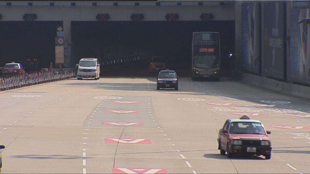 兩隧加價幅度在法例容許水平內