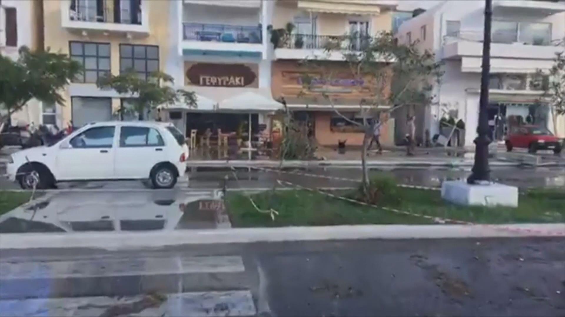 愛琴海七級地震 土耳其和希臘最少19死