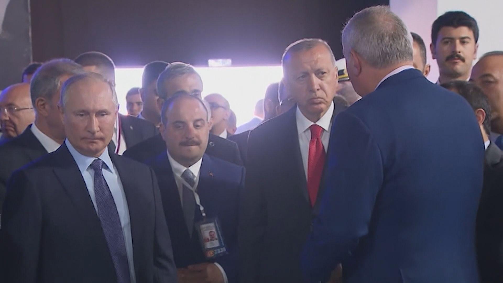 土耳其俄羅斯同意擴大軍事合作