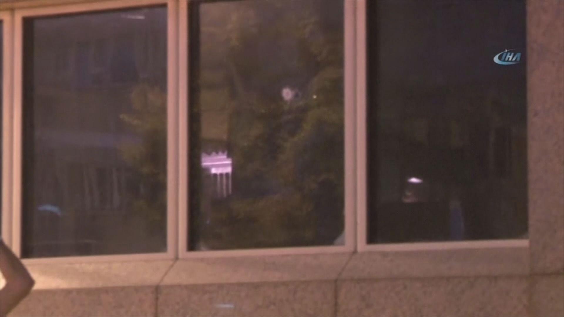 美國駐安卡拉大使館遭槍擊無人傷