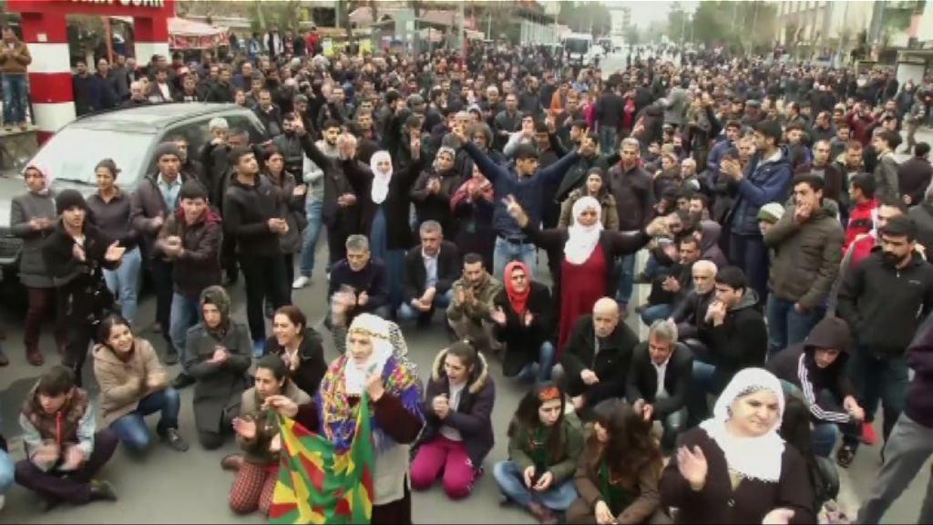 土耳其東南部再有庫爾德人示威