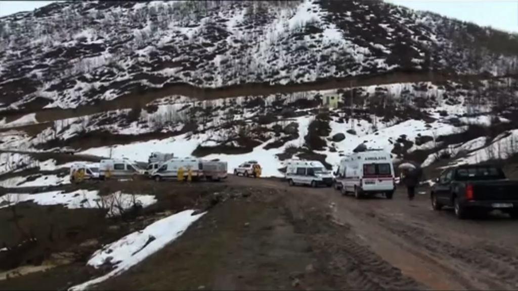 土耳其警方直升機墜毀十二人罹難