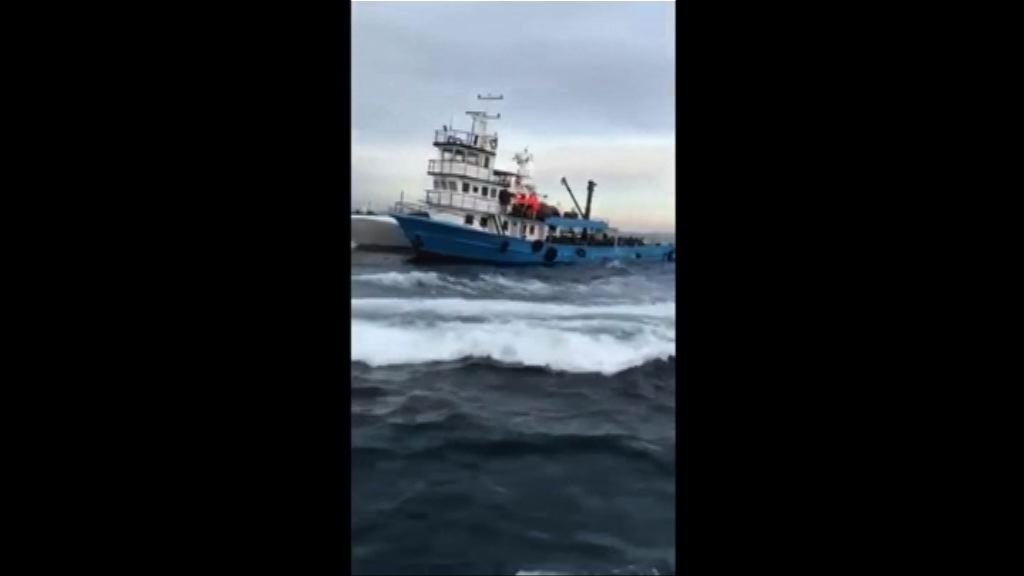 土耳其海上攔截300多名偷渡客