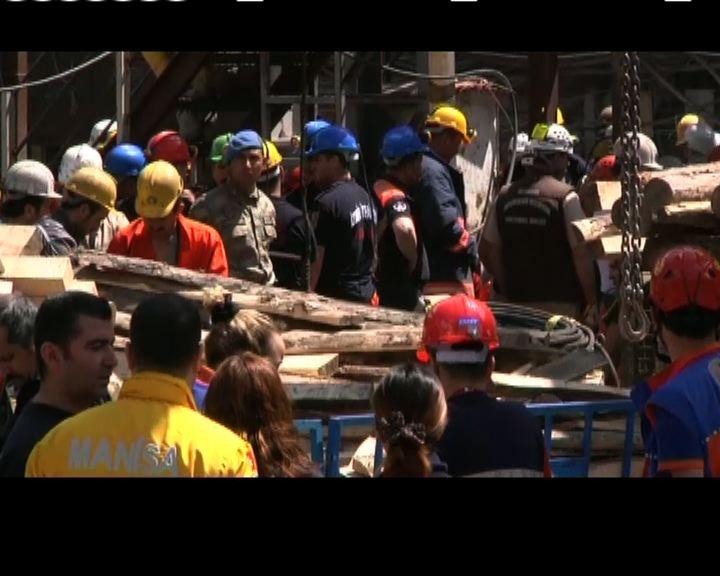 土耳其當局指礦難死者最多302人