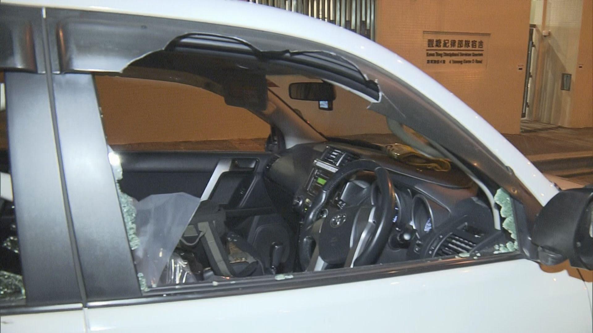 電視台採訪車遇襲記者及司機受傷