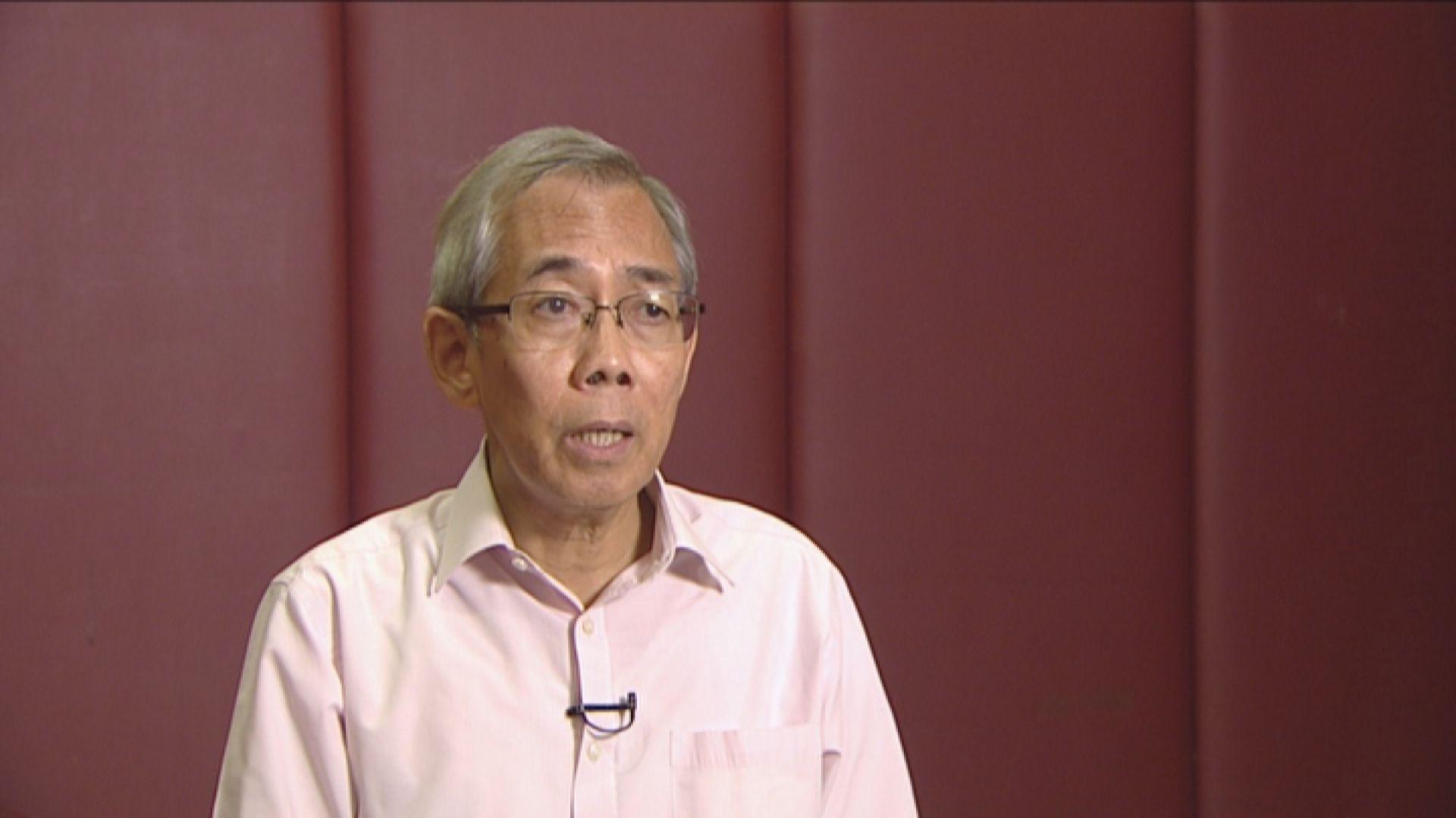 王永平:內地病人來港 市民憤怨難以控制