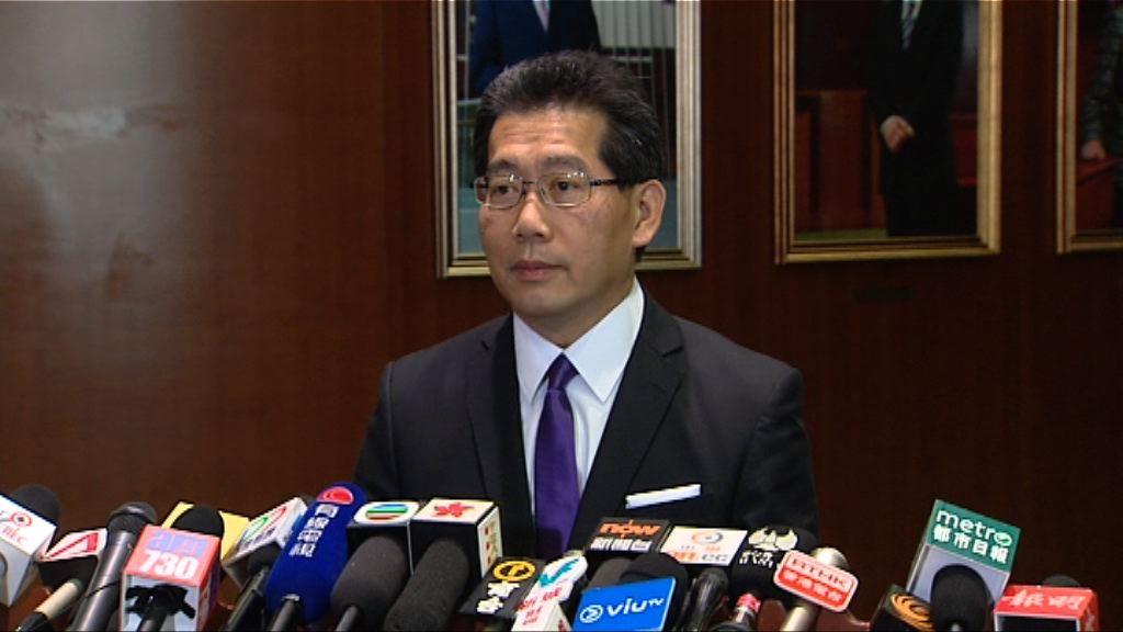 蘇錦樑:通訊局就無綫股權徵詢法律意見