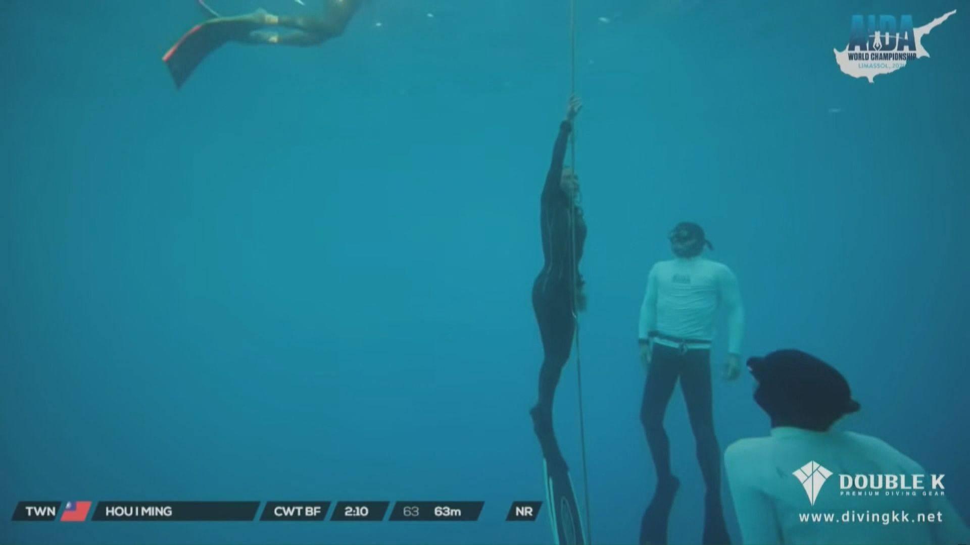 自由潛水世錦賽會方向台灣就移走旗幟一事致歉
