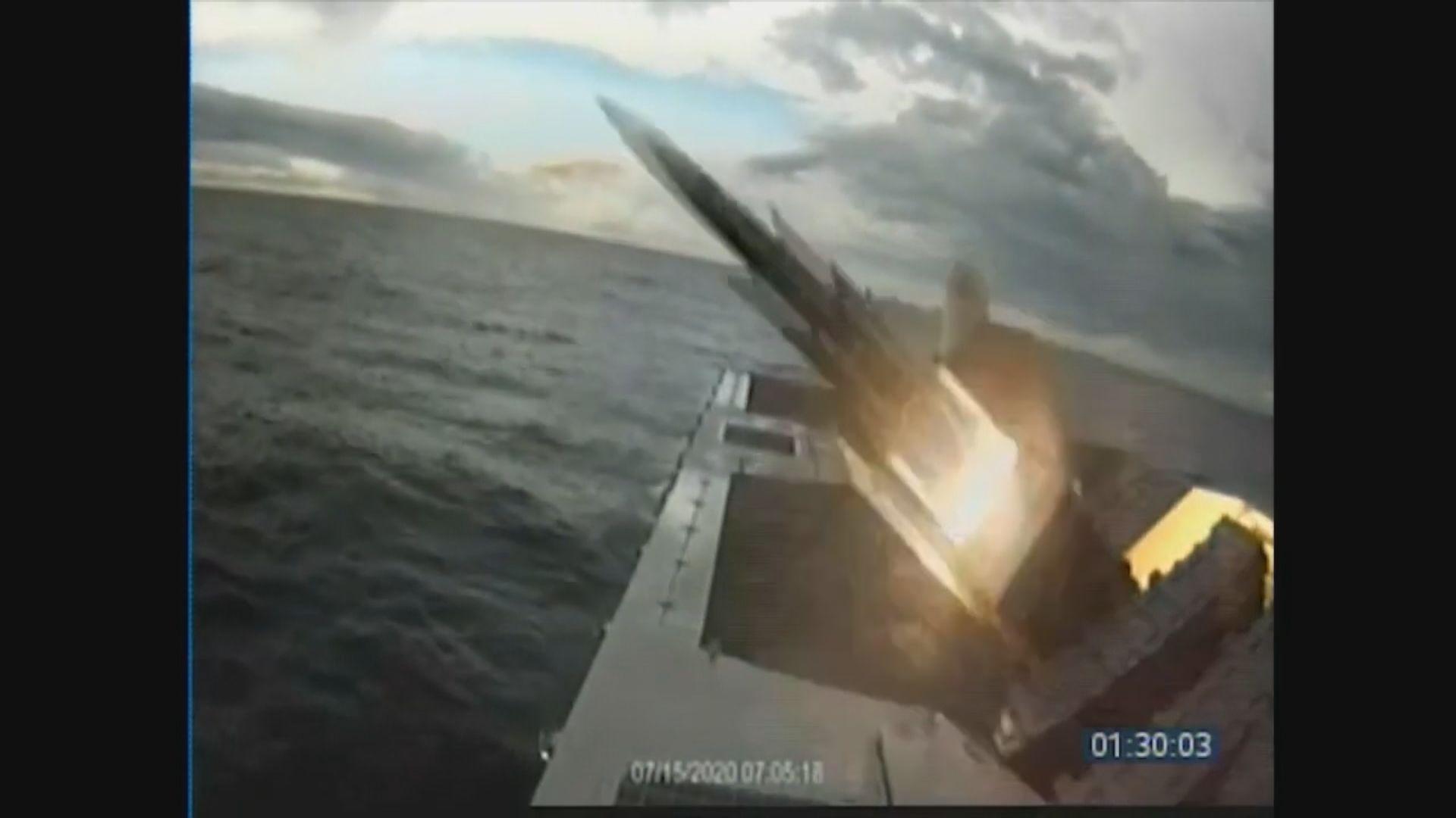 台灣漢光演習第三日 試射多種飛彈及魚雷
