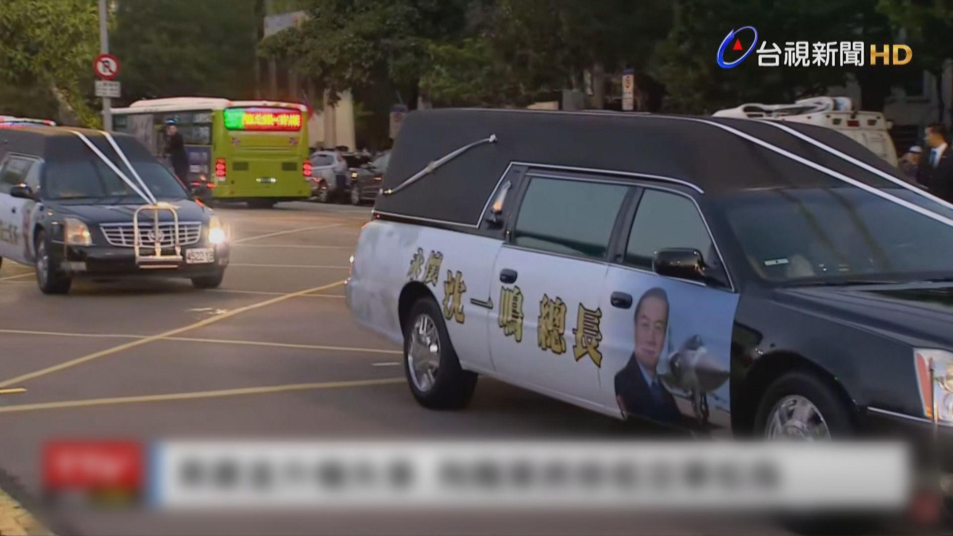 台灣黑鷹墜機事故殉職將士移靈至松山基地