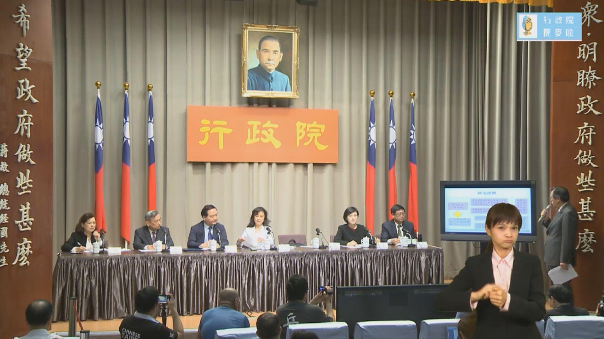 台灣行政院修例提高兩岸政治協商門檻