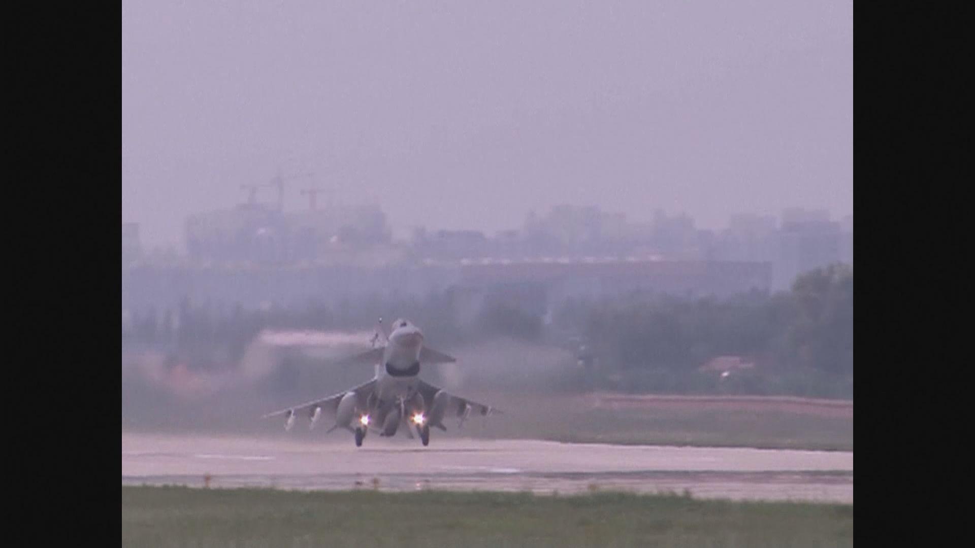 解放軍戰機進入台空域 台軍方偵巡機廣播驅離