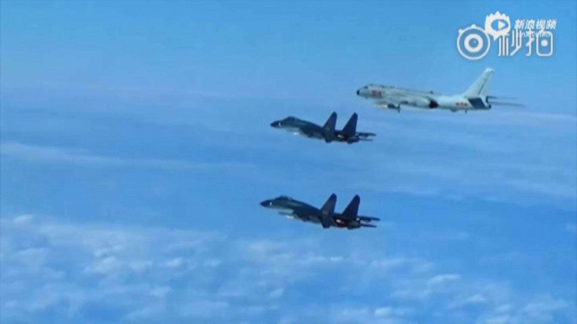 台灣軍方指解放軍軍機28次飛入西南空域