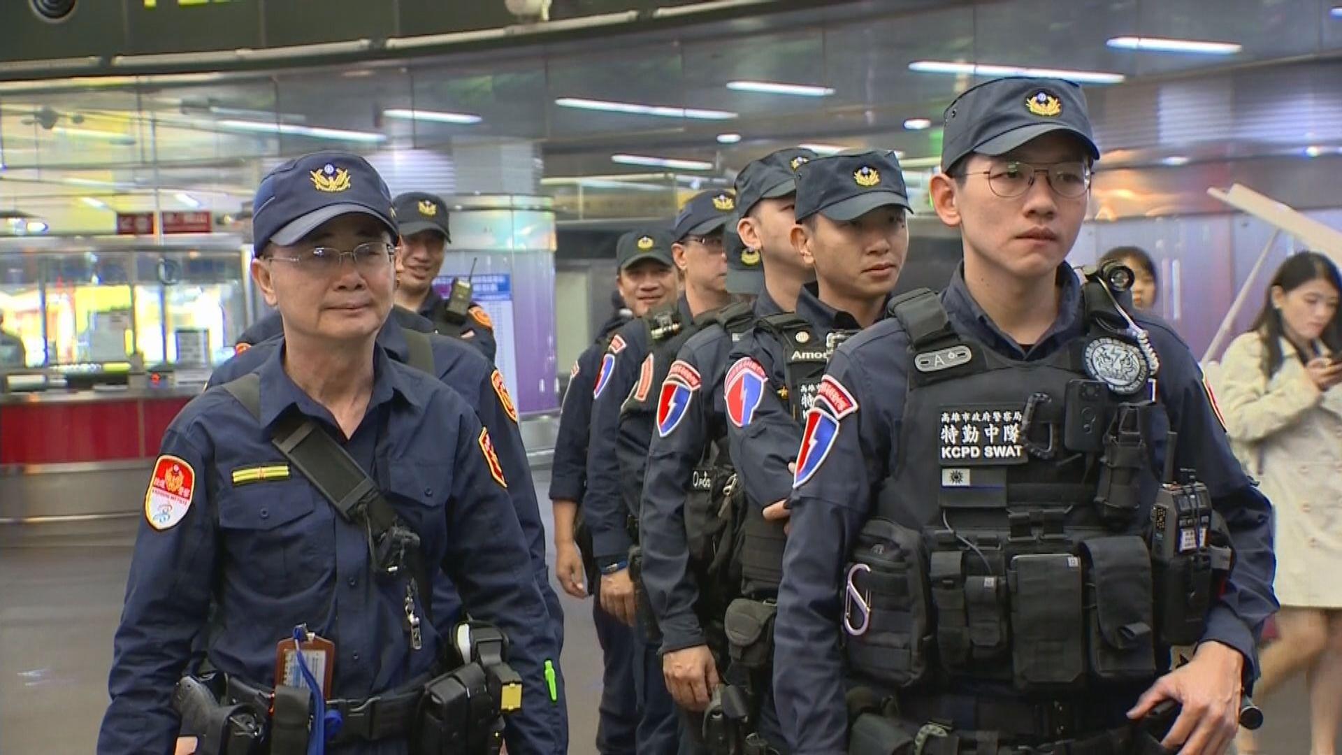 挺罷韓國瑜遊行高雄舉行 當局加強戒備