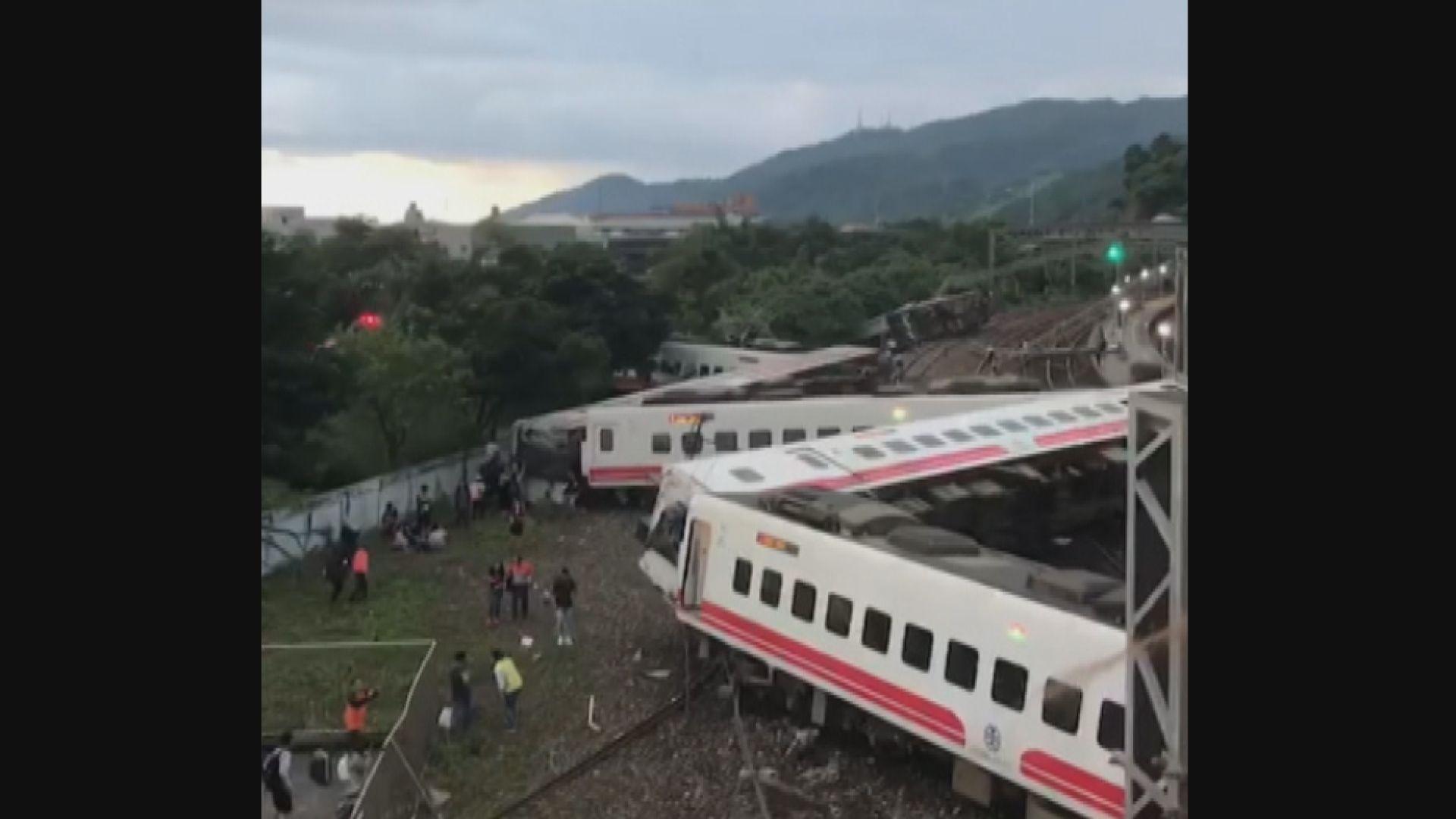 翻側列車司機曾通報行駛時動力不足
