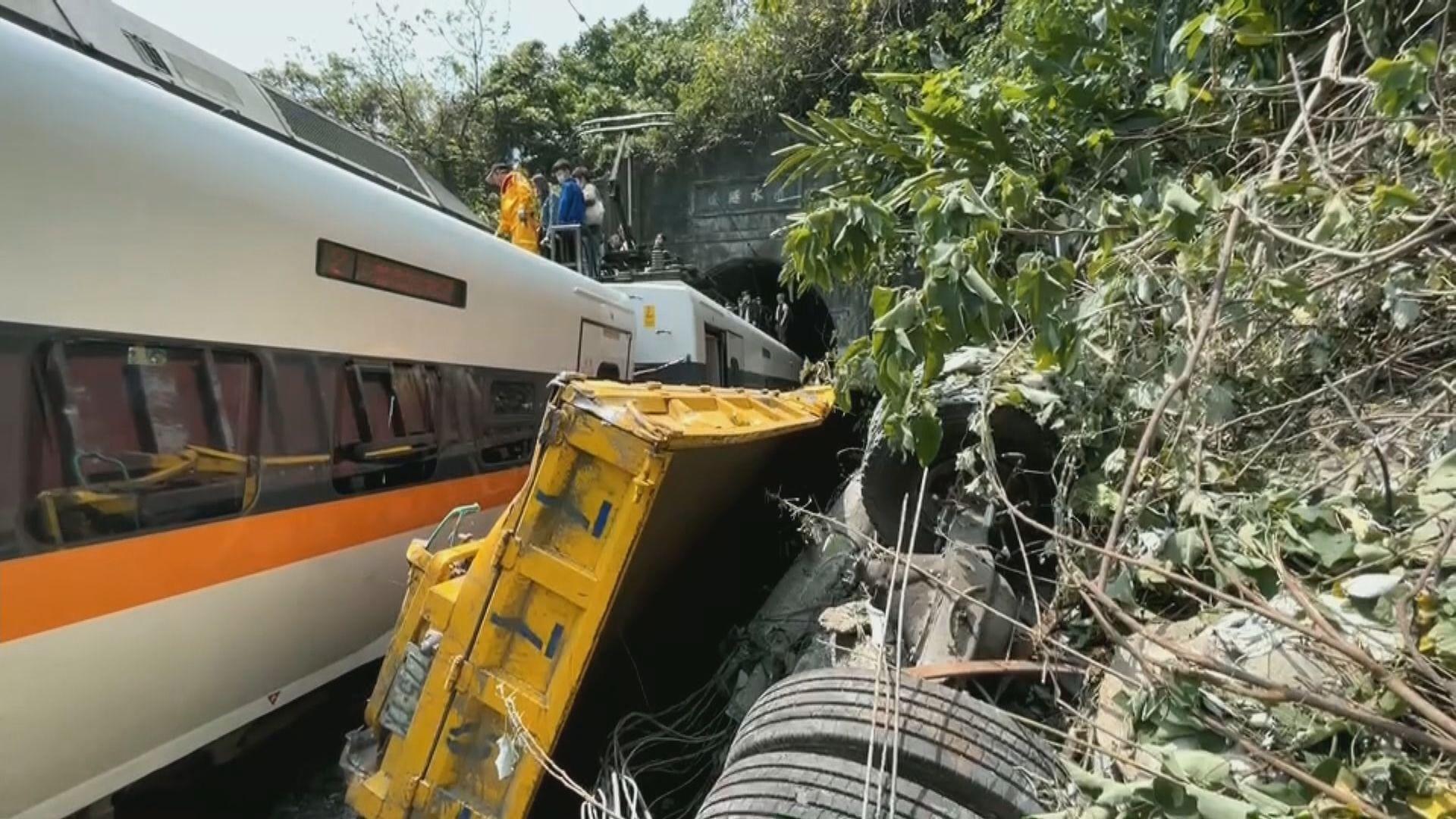 台鐵列車花蓮隧道出軌 據報最少36死逾60人傷