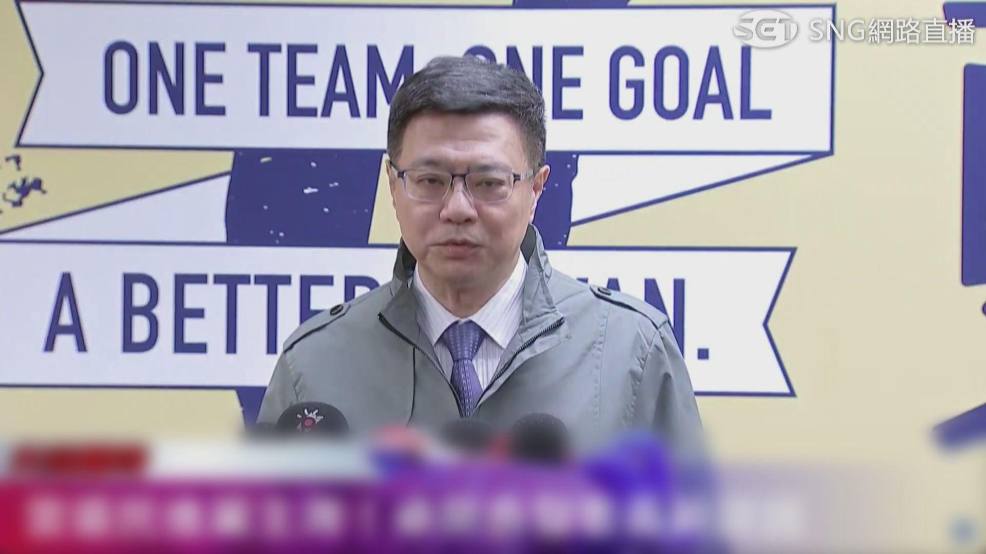 卓榮泰:立委補選與黨務改革為首要任務