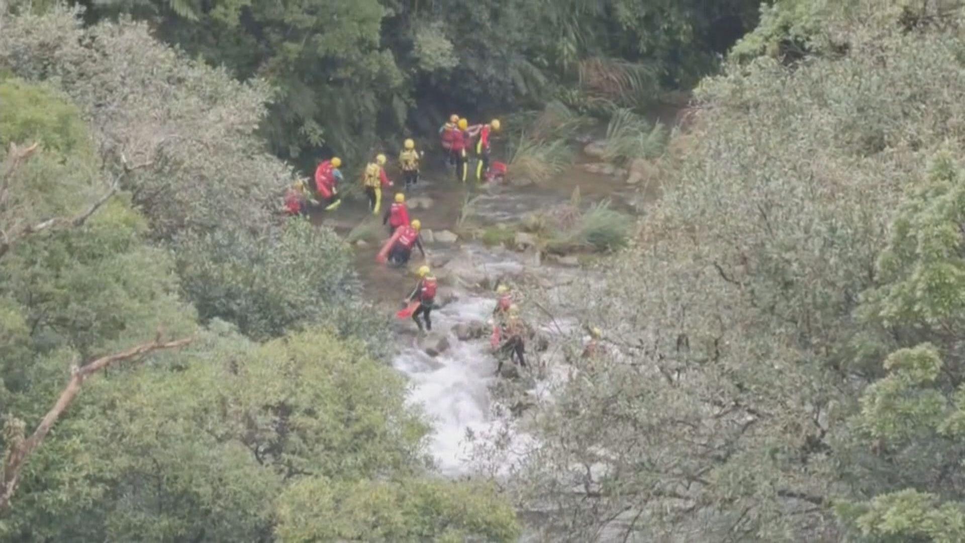 台灣救援人員擴大搜索虎豹潭兩名失蹤兒童